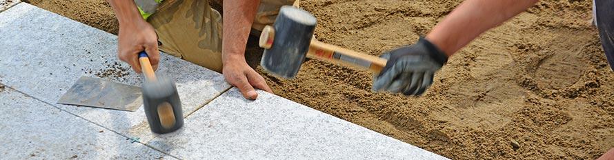 betonnen tuintegels